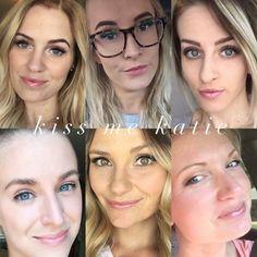 LipSenseColor Collage: Kiss Me Katie LipSense // SeneGence independent distributor #237343