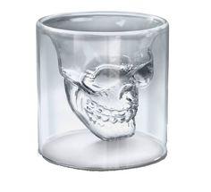Shot/verre tête de mort