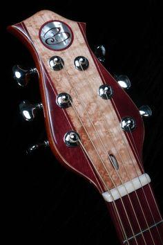 Becker Guitars custom headstock
