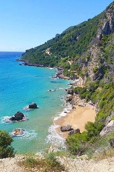 Corfu is a beautiful Greek island with many amazing popular and secluded beaches.Here is our top 21 best beaches in Corfu that you should not miss. Greek Islands Vacation, Best Island Vacation, Best Greek Islands, Greece Vacation, Greece Islands, Greece Travel, Lanai Island, Corfu Island, Santorini Island