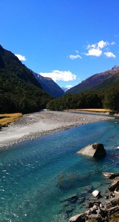 East Branch of the Matukituki River - NZ