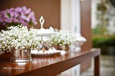 Decoração de mesa com Mosquitinhos.