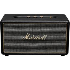 Marshall Stanmore Bluetooth Stereo Speaker Black