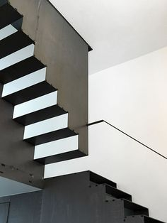 Blackened Steel Staircase