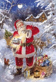 Magic of father Christmas