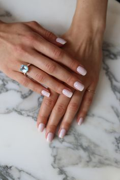 Can't go wrong with Essie Ballet Slippers // Nails by LeSalon