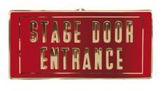 Wanddecoratie Stage Door Entrance - Sisters in Wonderland stage door, door entranc, parti vip, pc parti, star parti, slumber parti, parti idea, direct parti, parti congradul