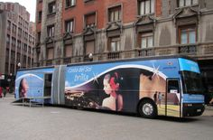 Oficina de turismo en España y Portugal. Costa del Sol.  #streetmarketing #marketing #marketingexterior #publicidad #publicidadexterior #publicidadmovil #roadshow #vehiculopublicitario #bus #turismo