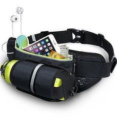 Waist bag pack Bottle Holder Waterproof beach adventure biking Fitness Running #MYCARBON