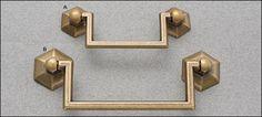 hexagonal handles via: Lee Valley $7.20 & $8.20