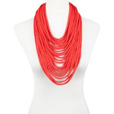 Scarflace Scarf Red, 45€,  by SAAKO !!