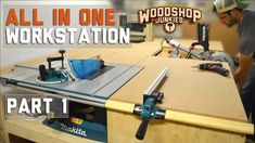 Building an All-IN-ONE woodworking workstation – PART 1- Plans With Video Instruction | Woodwork Junkie