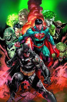 BATMAN SUPERMAN ANNUAL #2 (W) Greg Pak (A/CA) Ardian Syaf, Jonathan Glapion
