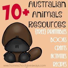 FREE 70 Australian Animals Resources: Printables, Crafts & MORE! | Free Homeschool Deals ©