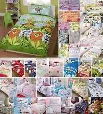 Magical Unicorns & Fairies Girls Reversible Duvet Quilt Cover Bedding Linen Set Cot Cotbed | eBay