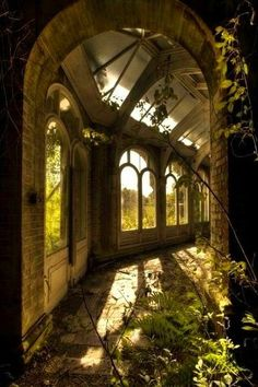 Abandoned Overgrown Awesomeness #Inspiration #Celtic