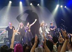 Tarja Turunen and her band: Max Lilja, Christian Kretschmar, Alex Scholpp, Kevin Chown and Ralf Gustke live at Tango Star Live Beijing, China, 22/06/2016 #tarja #tarjaturunen #tarjalive PH: https://www.facebook.com/Tarja-Turunen-Dark-Star-Greece-459458724075188/
