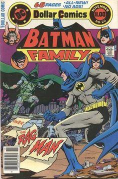 LAST BAT-TIME! Cover story: Batman vs. Ragman! Plus Man-Bat as legman for P.I. Jason Bard, and more!