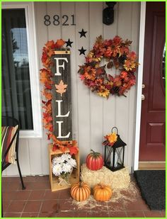 The very best colors to start with when decorating your bedroom for the Fall season are warm, earth type tones such as brown, yellow, gold, orange, ..... Fall Home Decor, Autumn Home, Fall Yard Decor, Fall Decor Outdoor, Fall Wagon Decor, Fall Apartment Decor, Fall Entryway Decor, Fall Fireplace Decor, Fall Kitchen Decor