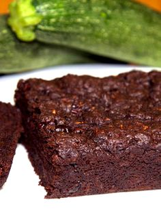 Vegan Chocolate Zucchini bread uses banana instead of eggs. You can use applesauce instead of oil. You don't even taste the zucchini