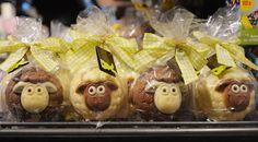 Idee für Ostern: kugliges Schoko-Schaf