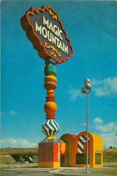 """In a time long before it became the """"Xtreme Theme Park,"""" and home to Bugs Bunny, the Magic Mountain of the 1970s was a very different place and was home of the trolls. The 1970s Magic Mountain once had a train ride, Mennonite Village, monorail, bumper boats and nightly performances with Sunny and Cher."""