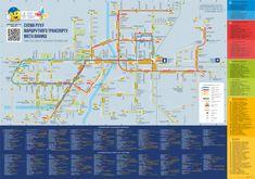 Новини Вінниці - фото з Киянин зробив зрозумілу схему транспорту Вінниці. А що не так зі старою?