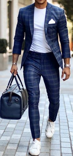 51 chic white sneaker outfit you& always seen . - 51 chic white sneaker outfit you& always seen Style St … – - Suits And Sneakers, White Sneakers Outfit, Sneakers Fashion, Men's Sneakers, Running Sneakers, Sneakers Sale, Mens White Sneakers, Leather Sneakers, Clothing Styles