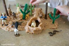 Zoologicka zahrada - slane testo plus prirodniny a zviratka. Vezmu material.