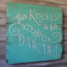 Kitchen Sign Decor This Kitchen is for by OnALimbCreations