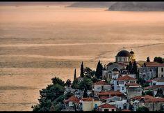 | Evening in Kavala | Greek Isles, Macedonia, Best Cities, Seattle Skyline, Athens, Wander, Istanbul, Taj Mahal, Cruise