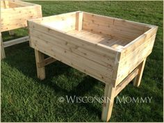 Building Raised Garden Beds On Legs