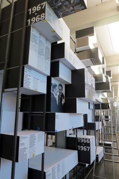 Actualité / Ruedi Baur met l'école d'Ulm en boites / étapes: design &…