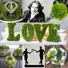 """""""La natura non l'ha creato, così ci ho pensato io""""....questa è la frase che Oscar Wilde soleva dire del garofano verde sempre all'occhiello della sua giacca. Il garofano verde è simbolo dell'amore omosessuale e nel linguaggio dei fiori il suo significato è virtù e nobiltà. Perché non sceglierlo come fil rouge delle nozze...è elegante e raffinato mixato a un bianco, grigio o un ecru' e ha davvero grandi potenzialità per creare un tema d'impatto.  #matrimoniogay #OscarWilde #IlGarofanoVerde…"""