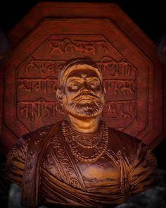 Shivaji Maharaj Hd Wallpaper, Download Wallpaper Hd, Creativity Quotes, Instagram Logo, Historical Pictures, Buddha, Hero, Statue, Creative