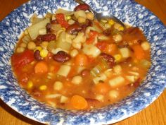 Make and share this Uncle Bill's Vegetarian Minestrone Soup recipe from Food.com.