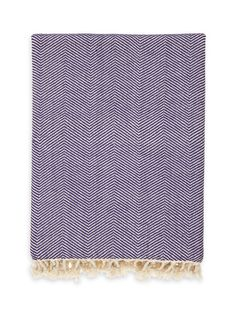 Ayrika Organic Cotton Herringbone Throw  $82