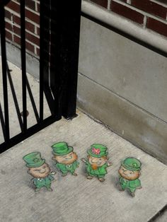 Lepreconformity Chalk Art for All Seasons - David Zinn