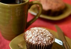 Flaxseed, Wheat, and Bran Muffins - These are healthy, delicious muffins. I gave some to co-workers and they all marveled that they were healthy because they tasted so great! Really convenient afternoon snack.