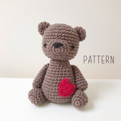 A personal favourite from my Etsy shop https://www.etsy.com/au/listing/588221201/pattern-english-amigurumi-teddy-bear-the