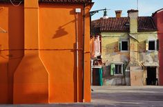 Burano, Italy by j roesmann, via Flickr
