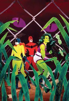 She-Hulk #7 by Kevin Wada *