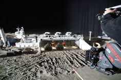 Most likely from moon surface defense tanks. Thunder City, Giger Alien, Practical Effects, No Man's Sky, Sci Fi Models, Real Model, Movie Props, Great Films, Scene Photo