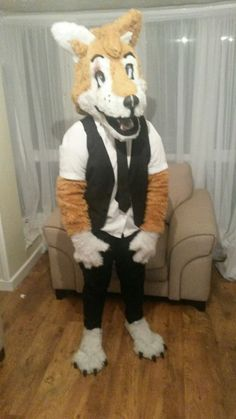 Wolf Fursuit, Lamb, Snoopy, Costumes, Animals, Fictional Characters, Animales, Dress Up Clothes, Animaux