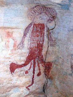 Wandjina Art on Bigge Island, the Kimberley