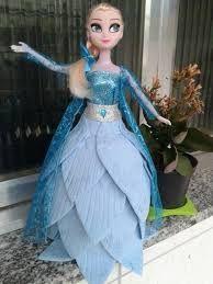 Resultado de imagem para boneca frozen de eva
