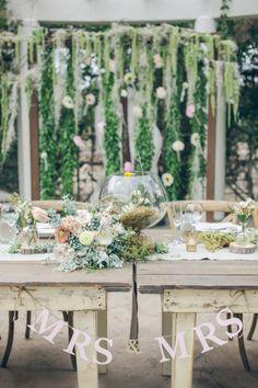 Rustic wedding decor: http://www.stylemepretty.com/california-weddings/los-angeles/2014/12/19/rustic-summer-wedding-at-orcutt-ranch/ | Photography: Gather West - http://www.gatherwestphotography.com/