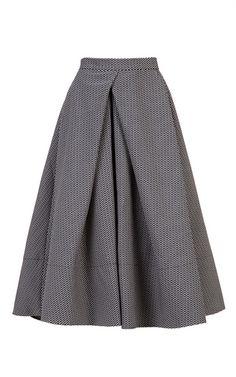 Pepita Skirt by BESSARION for Preorder on Moda Operandi