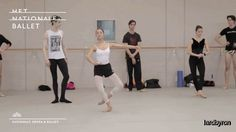 Nancy Burer of the Dutch National Ballet Junior Company