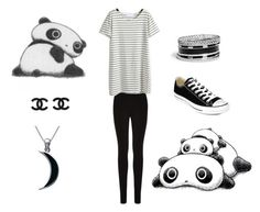 """Panda 2"" by liv-caleo ❤ liked on Polyvore"